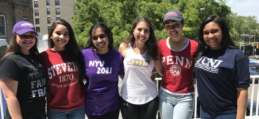Slide – Seniors In College Shirt