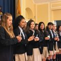 SDA Inducts New Members Into Honor Societies
